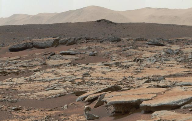 Erosion by Scarp Retreat in Gale Crater