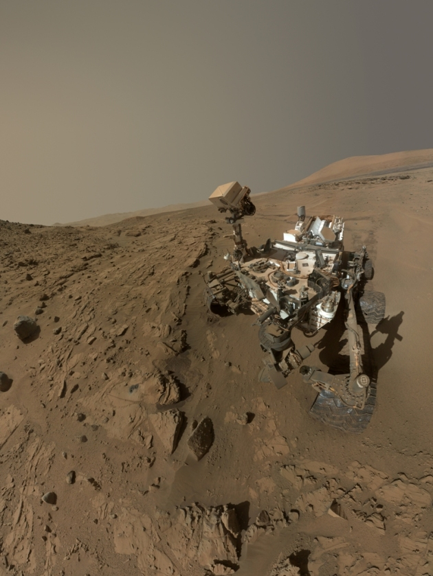 Self-Portrait of/by Curiosity at 'The Kimberly' 4/2014