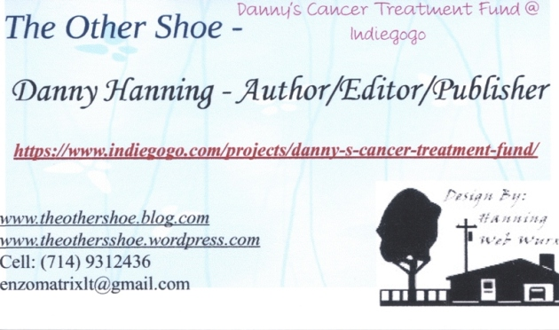The Other Shoe Danny's Cancer Treatment Fund Card – Front